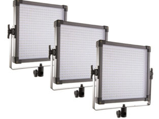 F&V K4000S Bi-Color 3'lü LED Panel Işık Seti