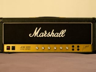Marshall 50 watt model 1987 jcm 800 vintage 1981 seri no 21